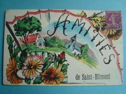 80 - SAINT BLIMONT - Amitiés - 1925 - Otros Municipios