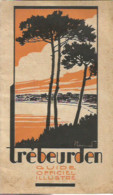 M12 Cpa / Superbe LIVRET TOURISTIQUE TREBEURDEN 1931 50 Pages Publicités Hôtels - Trébeurden