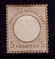 Deutsches Reich 6 Ungebraucht 5 Groschen Brustschild (22306) - Neufs