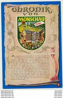 AK  Monschau Chronik - Monschau