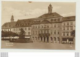 AK  Hanau Marktplatz 1927 - Hanau