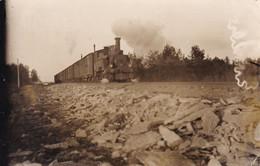 Railway Line With Train. - Estonia