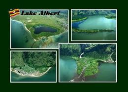 Uganda Lake Albert Multiview New Postcard - Uganda
