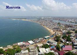 Liberia Monrovia West Point Aerial View New Postcard - Liberia