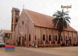 Gambia Banjul Cathedral New Postcard - Gambia