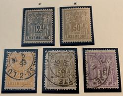 LUXEMBOURG -1882 - ALLEGORIE - - 1882 Alegorias