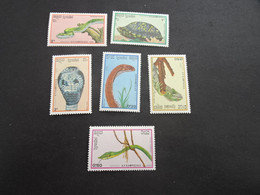 K47091 -  Stamps MNH  - Kampuchea 1988 - Reptiles - Other