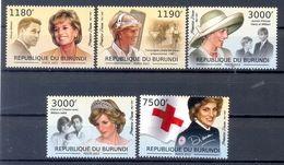 BURUNDI   (WER1594) - 2010-..: Mint/hinged