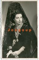 Foto Retrato Mujer Woman Portrait Castellón España 1953 - Signed Photographs