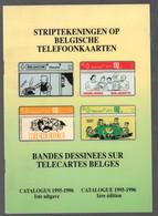 Catalogus Striptekeningen Op Belgische Telefoonkaarten (RTT) (Eddy Reniers 1995) - Other