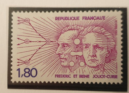 France CURIE Physics Medicine Nobel Prize Radiology X-ray 1982 Mnh - Medicine