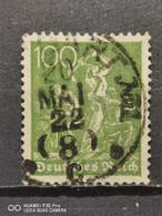 Deutsche Reich Mi-Nr. 187 C Gestempelt Geprüft KW. 40€ - Infla