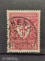 Deutsche Reich Mi-Nr. 199 C Gestempelt Geprüft KW-10€ - Infla