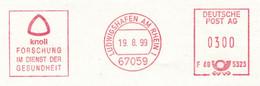 Ludwigshafen Rhein 1999 Knoll Arzneimittel - 67059 F685323 - Forschung Im Dienst Gesundheit - Apotheek