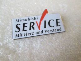 PIN'S       MITSUBISHI   SERVICE - Mitsubishi