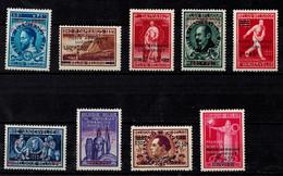 Belgique 1947 Poste Aérienne Luchtpost COB PA15/23, MH * Cote 4.50€ - Airmail