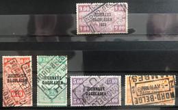 België, 1928-29 -- 5x Dagbladzegel Met Stempel NORD-BELGE - Giornali