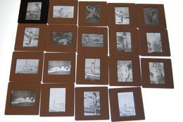 Diapositive Noir Et Blanc Erotique - Diapositivas