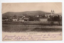 - CPA RÉGNIÉ (69) - Vue Générale 1904 - Edition Belin 225 - - Other Municipalities