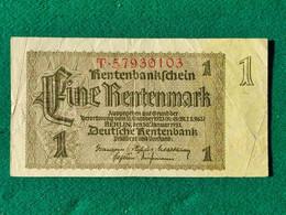 Germania 1 Rentenmark 1937 - Other