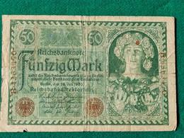 Germania 50 Rentenmark 1920 - Andere