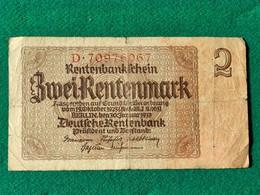Germania  Rentenmark 1937 - Other