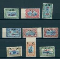RUANDA-URUNDI, RED CROSS 1918, A. O. OVERPRINT, NEVER HINGED - 1916-22: Mint/hinged