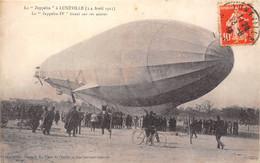 54-LUNEVILLE-LE ZEPPELIN 3/4 AVRIL 1913, LE ZEPELIN IV TIRANT SUR SES ANCRES - Luneville