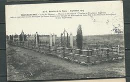 N°216 Guerre De 1914 - Bataille De La Marne -Talus Saint Prix - Tombes De Tirailleurs Algériens   Lav92 - War 1914-18