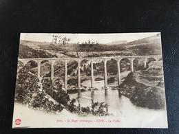 5105 - Le Bugey Pittoresque - CIZE Le Viaduc - 1924 Timbrée - Other Municipalities