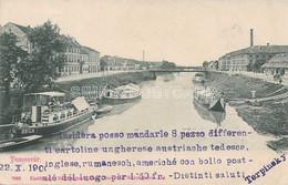 AK OLD  POSTCARD - ROMANIA - TEMESVAR - TIMISOARA - VIAGGIATA 22.10.1900 -  A34 - Romania