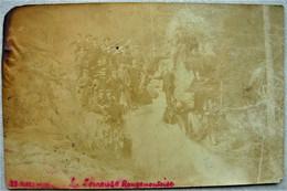 Le Rougemont ( ESSERVAL TARTRE 39 ) Mars 1910 Carte Photo La Seineuse Rougemontoise ( Mauvais état ) Censeau Nozeroy - Sonstige Gemeinden
