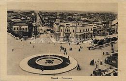 AK OLD  POSTCARD - ALBANIA - TIRANE - TIRANA - PANORAMA - VIAGGIATA 1941 - E47 - Albanie
