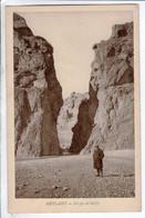 Cpa Metlaoui  Gorges Du Seldja - Túnez