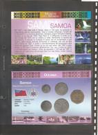Samoa - Folder Bolaffi Mint Set FdC 2002 Km131/135 - Samoa