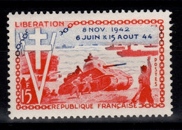 YV 983 N** Liberation Cote 3 Euros - Unused Stamps
