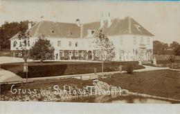 AK OLD REAL PHOTO POSTCARD - AUSTRIA - GRUSS VOM SHLOSS TRESDORF - PRIMI '900 -  P26 - Stockerau