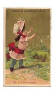 CHROMO CHOCOLAT GUERIN BOUTRON - PETIATE FILLE LAPIN : L'INGRATITUDE - (Courbe Rouzet) - - Guerin Boutron