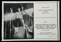"""► VANVES Chiffonnerie Coopérative  """"Solidarité Des Chiffonniers"""" - Coupure De Presse Originale Début XXe (Encadré Photo) - Documentos Históricos"""
