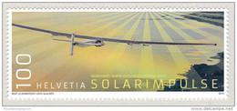 Switzerland 2016 (03) Solar Impulse Solar Plane  MNH ** - Ungebraucht