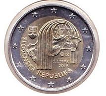 2 Euros Commémoratif 2018 : Slovaquie - Slovakia