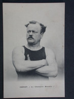 Ref6190 CPA De Obriot - Le Champion Bisontin Sportif Portrait - Sporters