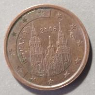 2006 -  SPAGNA  - MONETA IN EURO - DEL  VALORE  DI  2 CENTESIMI  - CIRCOLANTE - - Spanien