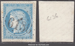 *RARE* GC 6136 (Goux-lès-Usiers, Doubs (24)), Cote 120€ - 1849-1876: Klassik