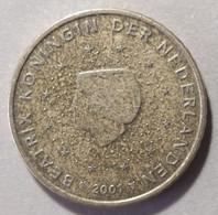 2001 -  PAESI BASSI  - MONETA IN EURO - DEL  VALORE  DI  50 CENTESIMI  - CIRCOLANTE - - Niederlande