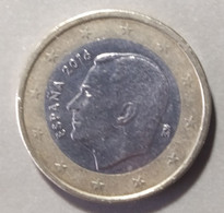 2016  -  SPAGNA  - MONETA IN EURO - DEL  VALORE  DI  1,00  EURO  - CIRCOLANTE - - Spanien