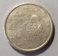 2017 -  SPAGNA  - MONETA IN EURO - DEL  VALORE  DI  50 CENTESIMI  - CIRCOLANTE - - Spanien
