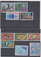 WALLIS ET FUTUNA Poste Aérienne Année Complète 1978 10 T Neufs Xx  N° YT PA 76 à 85 - 1978 - Unused Stamps
