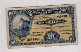 Billet 10 Shillings Gibraltar - Gibraltar