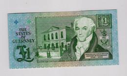 Billet 1 Pound Guernesey - Guernsey